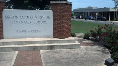 Martin Luther King Jr. Elementary School in Huntsville, Alabama (cstephens@al.com)