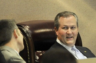 Speaker of the House Rep. Mike Hubbard, R-Auburn (Julie Bennett/jbennett@al.com)