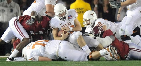 Texas is 7-1-1 all-time vs. Alabama.