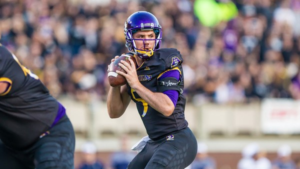 Gardner Minshew threw for 2,140 yards and 16 touchdowns as a junior at East Carolina last season.
