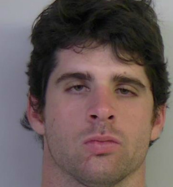 Keith Holcombe was arrested Thursday.