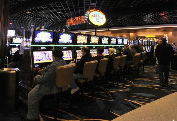 A man has been charged with taking money from Wind Creek Casino in Montgomery last week. (Julie Bennett/jbennett@al.com)