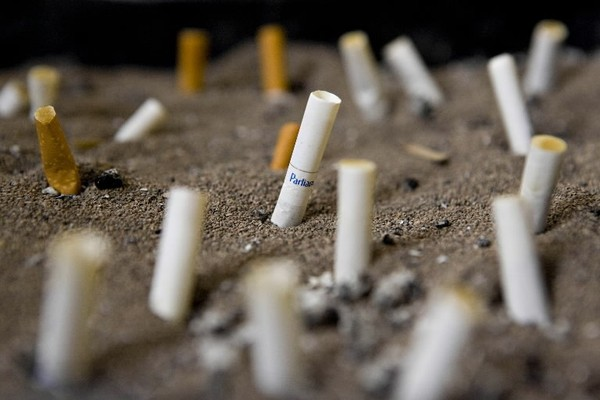 Smoking will be banned in and around all public housing starting July 31. (Daniel Acker/Bloomberg)