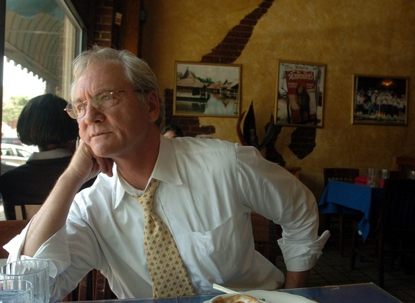 Don Siegelman, former Alabama governor, looks out the window at Surin restaurant while talking about his case in Birmingham, Ala., Wednesday, June 21, 2007. A jury last year convicted Siegelman and HealthSouth founder Scrushy of bribery, conspiracy, mail fraud, and Siegelman obstruction of justice. Siegelman's sentencing hearing before U.S. District Judge Mark Fuller is scheduled to begin on June 26. (Eric Schultz/ Huntsville Times)