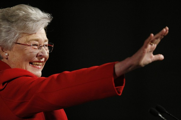 Alabama Gov. Kay Ivey likely will not attend the upcoming GOP debates ahead of the June 5, 2018, primary for governor. Political pundits believe that Ivey benefits from this decision, and likely will not be harmed. In this picture, Ivey speaks during the annual State of the State address at the Capitol, Tuesday, Jan. 9, 2018, in Montgomery, Ala. (AP Photo/Brynn Anderson)