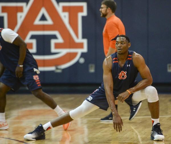 Auburn center Austin Wiley missed pro day for the second straight year. (Julie Bennett/jbennett@al.com)