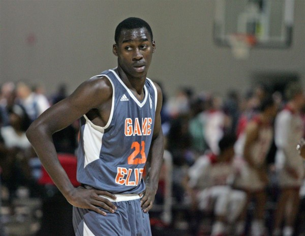 Four-star forward Jaylin Williams committed to Auburn on Saturday. (Photo courtesy 247Sports)