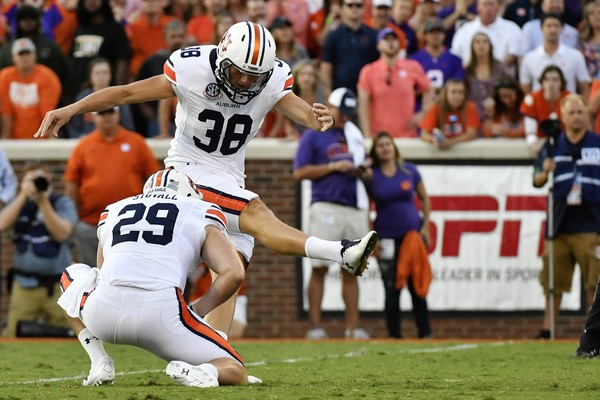 Former Auburn kicker Daniel Carlson was drafted by the Minnesota Vikings in  the fifth round. 86068d01e