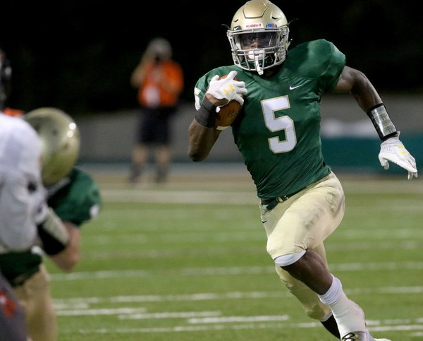 Former Mountain Brook running back Harold Joiner is one of 13 summer enrollees -- with 12 freshmen and one graduate transfer -- to join Auburn's roster. (Dennis Victory/preps@al.com)