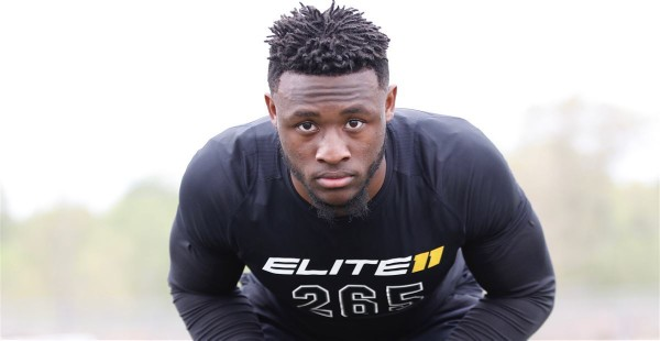 Five-star linebacker Owen Pappoe has some bold predictions for Auburn's 2019 recruiting class. (Photo courtesy 247Sports)