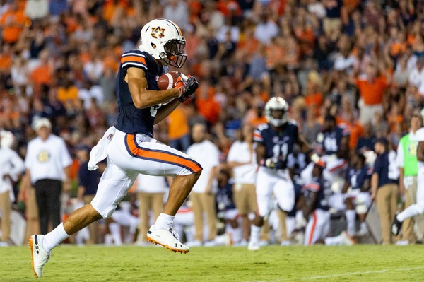 Auburn is in good position to win against LSU.