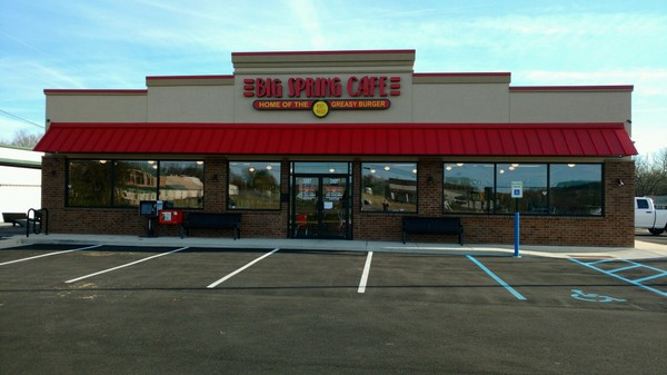 Big Spring Cafe's new location on Governors Drive.