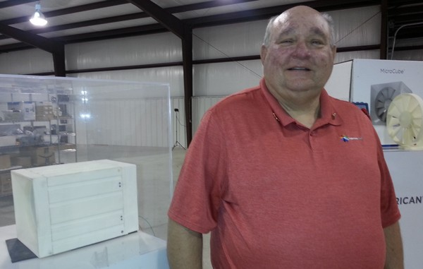 Robert Yost is president of American Wind of Huntsville, which is developing a system to capture wind to create energy.