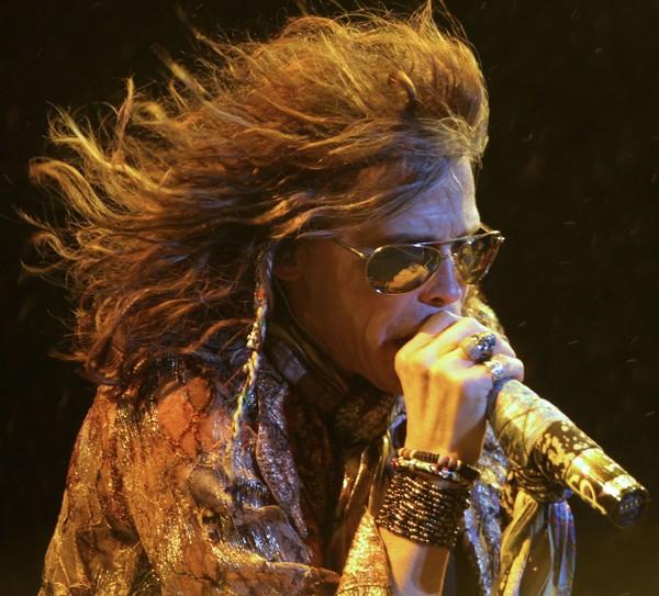 Steven Tyler of Aerosmith. (AP Photo/Andre Penner) AP