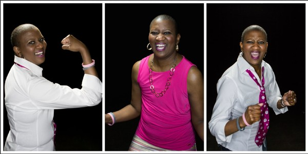 "Carla ""The Truth"" Youngblood is a Birmingham comedian and breast cancer survivor. In October, for National Breast Cancer Awareness Month, she tells her story in a show called ""The Truth About Breast Cancer."" (Courtesy photos)"