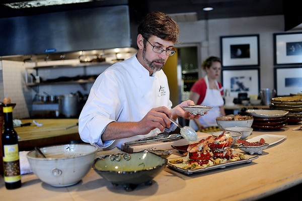 Chris Hastings of Hot and Hot Fish Club is one of the reasons the restaurant guide Zagat ranks Birmingham, Ala., No. 1 on its list of America's Next Hot Food Cities. (Tamika Moore/tmoore@al.com)