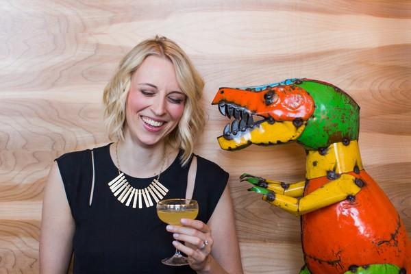 Birmingham bartender and beverage writer Clair McLafferty
