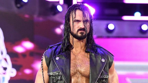 Drew McIntyre, above, recently returned to World Wrestling Entertainment where he's soared back to main event level status. (WWE)