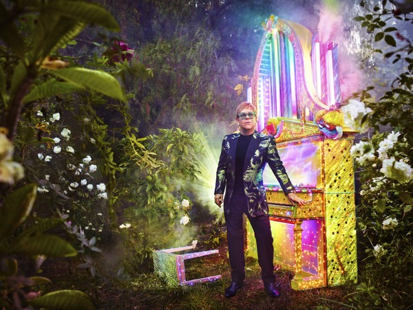 "Elton John's ""Farewell Yellow Brick Road"" tour will last for three years, 2018-2021, and stop in Birmingham on Dec. 4, 2018. (Courtesy photo/David Lachapelle)"