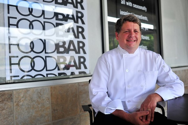 George McMillan III is pictured here outside of his new FoodBar restaurant in the Cahaba Heights section of Vestavia Hills. (Tamika Moore/tmoore@al.com)