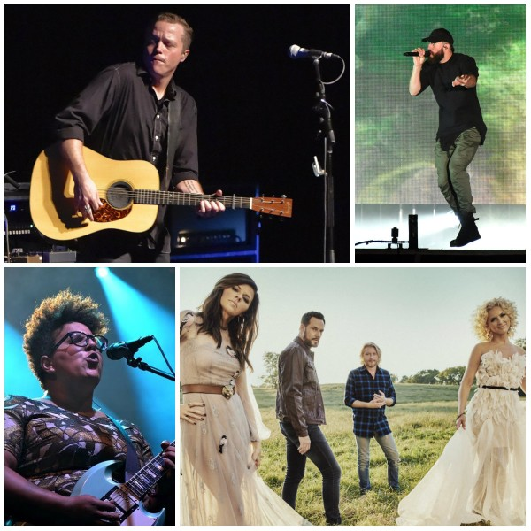 Grammy nominees for 2018 include, clockwise from top left: Jason Isbell, Sam Hunt, Little Big Town and the Alabama Shakes. They are among nine acts with Alabama ties who received nods for the 60th Annual Grammy Awards. (AL.com file photos, courtesy photo bottom right)