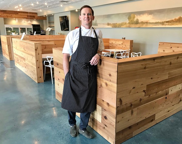 Mac Russell is the executive chef and owner of Whistling Table restaurant, with has opened in the former V. Richards cafe and market space in the Forest Park neighborhood in Birmingham, Ala. (Bob Carlton/bcarlton@al.com)