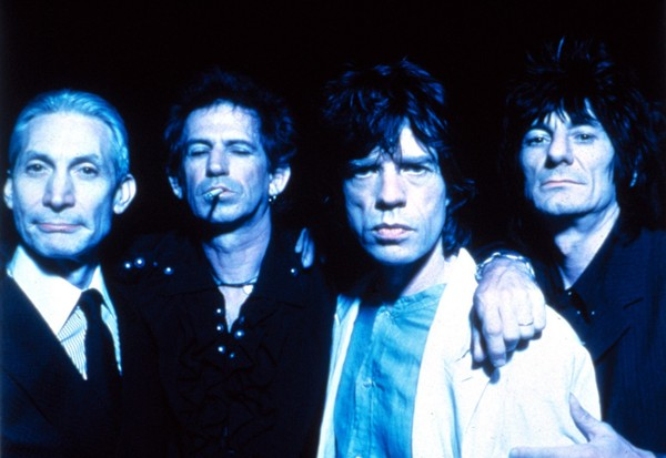 The Rolling Stones, circa 1994. (Courtesy Everett Collection)