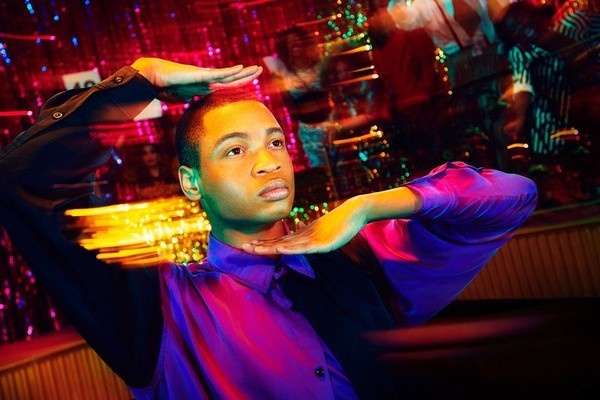 """Ryan Jamaal Swain, above, co-stars on Ryan Murphy's popular series """"Pose,"""" on which he plays an aspiring dancer in New York City. (FX)"""