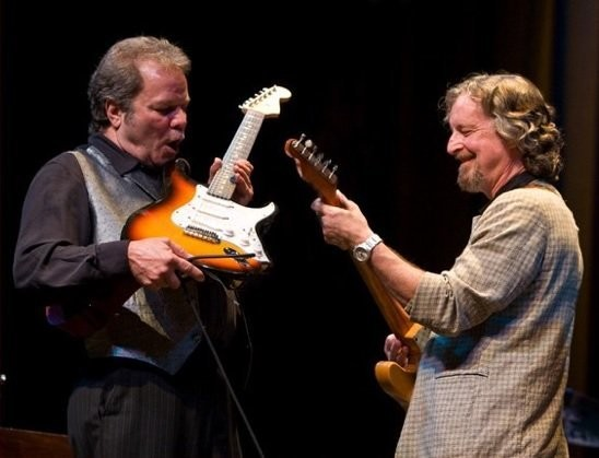 Tommy Talton, left, and Scott Boyer, of the Southern rock band Cowboy. (Courtesy photo)
