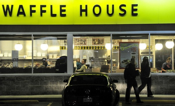Waffle House says it is investigating a woman's claims about its Pinson location.