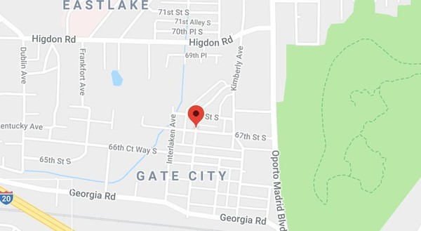 A man was found shot to death on Tuesday, June 12, 2018, inside an apartment in Birmingham's Gate City community.