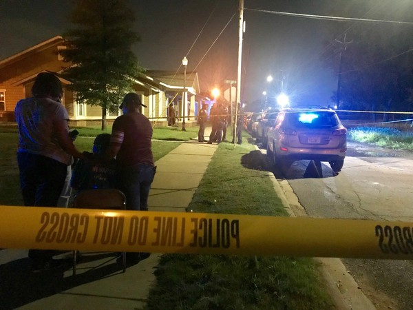 Birmingham police responded to a home in Acipco Cottages at 1625 25th Court North about 2 a.m. Sgt. Bryan Shelton said gunshots were reported and officers arrived on the scene to find three victims.