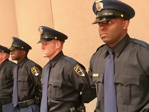 Fifteen men and women graduated Friday, Sept. 14, 2018 from the Birmingham Police Academy.