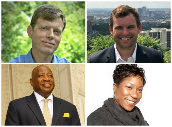 (From left to right:) Darrell O'Quinn, Hunter Williams and John Hilliard will be new to the Birmingham City Council. Daagye Hendricks was re-elected to the District 4 seat on the Birmingham Board of Education.