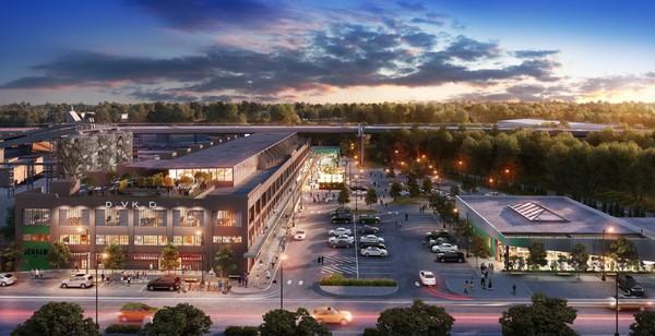 Rendering of Denham Building project.