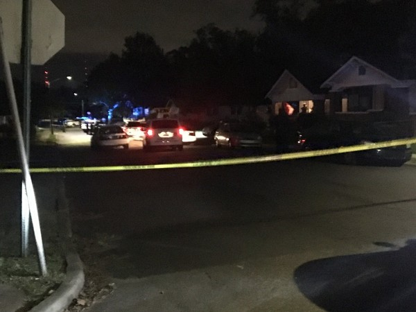Two shooting victims were found in the 4800 block of Terrace S on Friday, Oct. 27, 2017. A female was found dead inside a vehicle with multiple gunshot wounds and a man was taken to the hospital with life-threatening injuries.