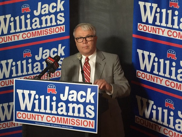 Jack Williams announces run for Jefferson County Commission District 5. (Erin Edgemon/eedgemon@al.com)