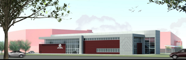 Rendering of the $7.2 million A.G. Gaston Boys & Girls Club facility planned to be constructed near the Birmingham CrossPlex in the Five Points West neighborhood. (Boys and Girls Club)