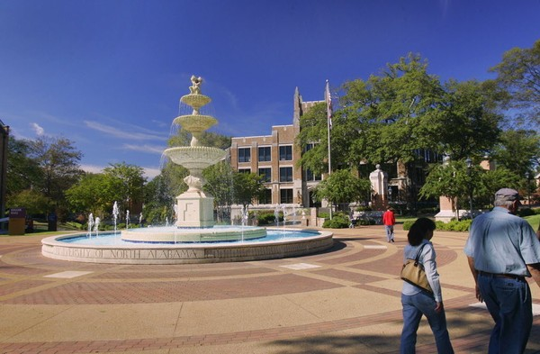 The University of North Alabama in Florence. File Photo