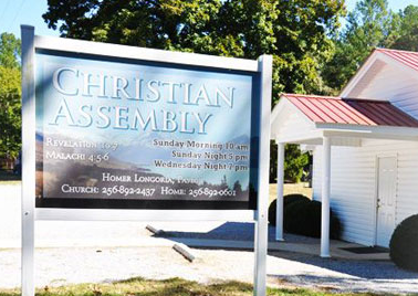 Ohatchee police say an 89-year-old woman was attacked at this church Sunday morning, Sept. 2, 2018.