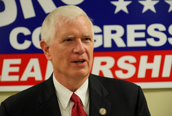 U.S. Rep. Mo Brooks gave his support July 10, 2018, to Rep. Jim Jordan of Ohio, who has been accused of ignoring claims of sexual assault while an assistant wrestling coach at Ohio State. (Bob Gathany/bgathany@al.com)