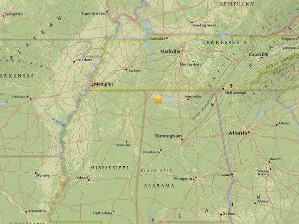 A magnitude 2.8 earthquake was detected 2.5 miles southeast of Florence on July 6 at 3:29 a.m., the USGS said.
