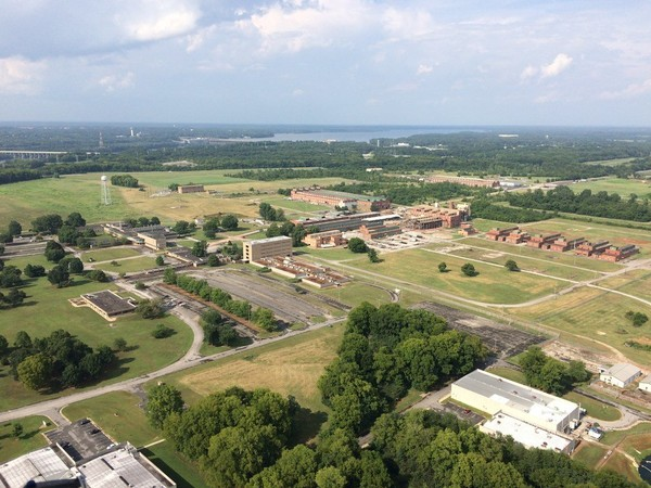 The Muscle Shoals Reservation in northwest Alabama. TVA completed a sale July 23, 2018, for 900 acres of the land. (TVA photo)