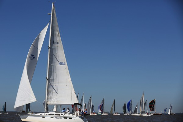 Six people died when an intense storm hit the 2015 Dauphin Island Race. The 2016 race, shown, featured some new safety practices; several lawsuits related to the 2015 event are working their way through the courts, though one recently was settled. (Sharon Steinmann/AL.com file)