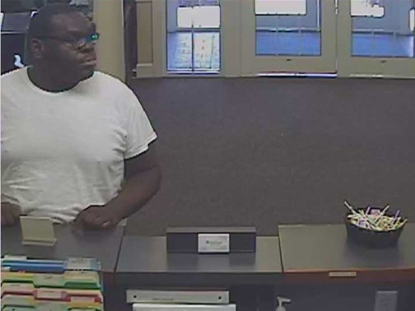 "Police are looking for this ""armed and dangerous"" man in connection with a robbery at CB&S Bank in Decatur."