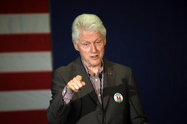 "Bill Clinton's new book with James Patterson ""The President is Missing"" has set sales records."