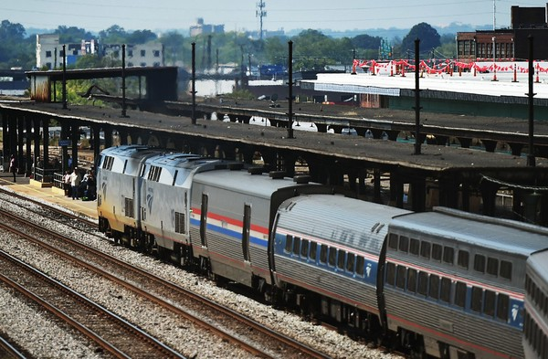 The southbound Amtrak Crescent train at the Amtrak Station in Birmingham, Ala., Tuesday, September 27, 2016. The Crescent makes daily trips between New Orleans and New York. Studies are underway to provide Amtrak service from Mobile to Montgomery and to Birmingham. (file photo).