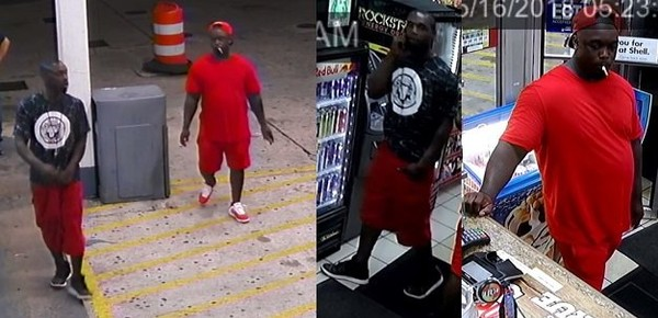 Mobile police are looking for these two men in connection with a Wednesday morning carjacking in the Birdville section of Mobile. (Mobile Police Department)