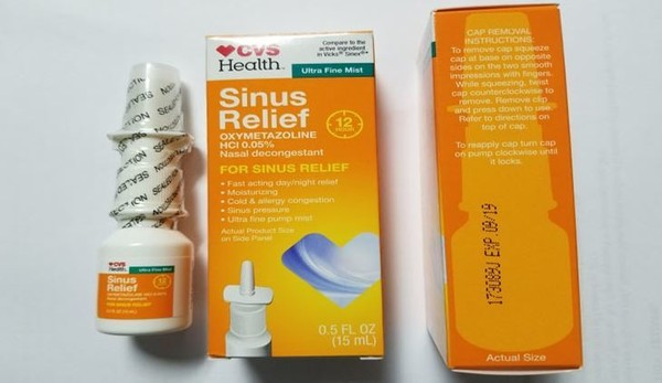 CVS Health 12 Hour Sinus Relief Nasal Mist has been recalled due to possible contamination. (Contributed photo/FDA)