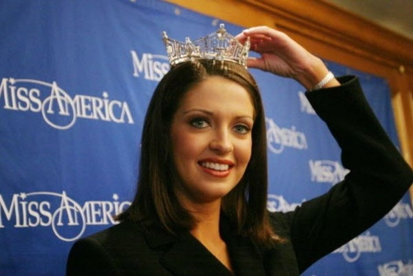 Former Miss Alabama Deidre Downs after winning the Miss America crown in 2005. (AL.com file photo)